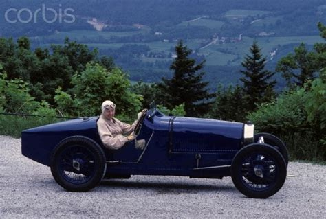 The Late Rene Dreyfus, Famous Race Car Driver In The Blue