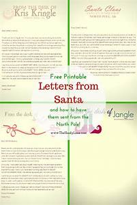 best 25 free letters from santa ideas on pinterest With free letter from santa mailed to your house