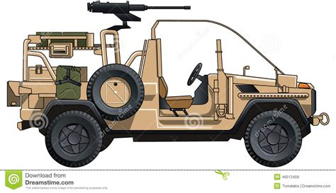 ww2 jeep drawing army jeep stock illustration illustration of modern