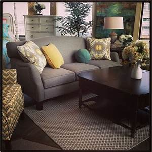 Check Out The Yellow Pops In This Room Setting From