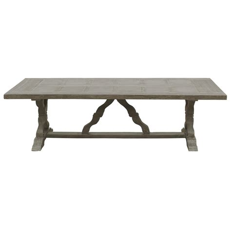 rustic outdoor dining table ronald french country parquet top rustic large outdoor