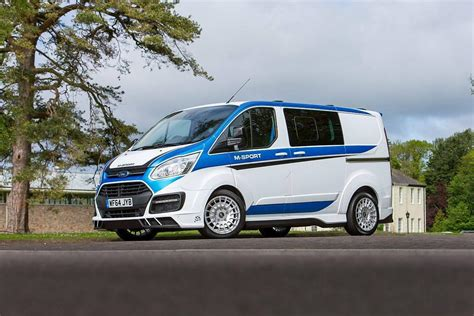 hotshot driver a wrc flavored ford transit van looks as mental as you