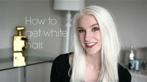 White Hair by How To Get White Hair