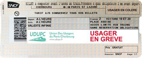 Changement Billet Greve Sncf by Sncf Gr 232 Ve De Pr 233 Sentation Du Billet Sur Le