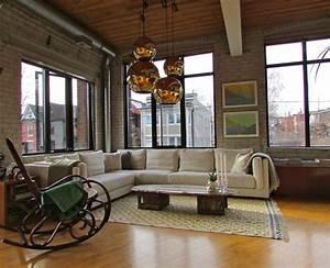 Industrial, Loft, -, Industrial, -, Living, Room, -, Toronto, Hannotte, Interiors