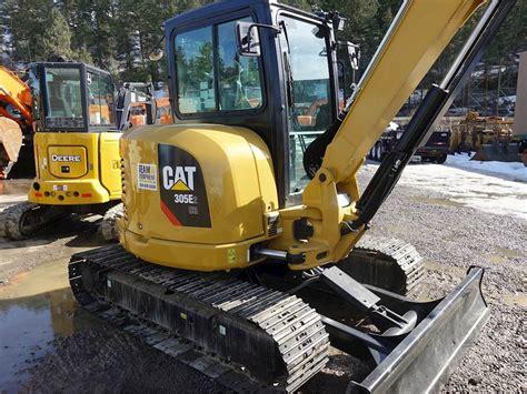 caterpillar  cr mini hydraulic excavator  sale chase bc