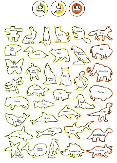 Soap Carving Templates by Rubble Road Soapstone Carving Kit Shapes List Soapstone