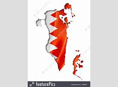 Flags Bahrain Flag Map Stock Illustration I4289257 at