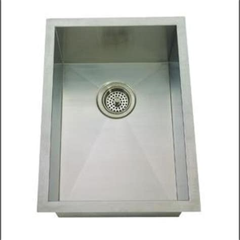 are mirabelle sinks mirabelle miruc1520z stainless steel undermount single