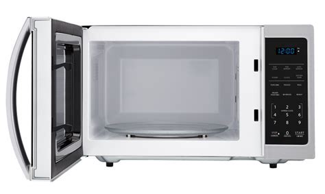 SMC0912BS 0.9 Cu Ft Stainless Steel Carousel Microwave