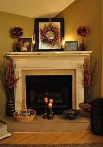 Fireplace, Decorating, Ideas, For, Mantel, And, Above