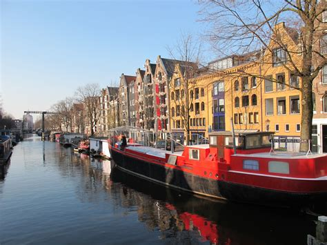 Living On A Boat In The Netherlands by Amsterdam Houseboat