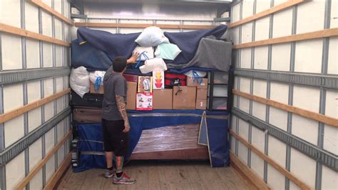ez moving services how to load a moving truck part 2