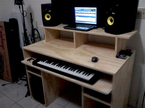 music studio desk workstation my diy recording studio desk gearslutz pro audio community