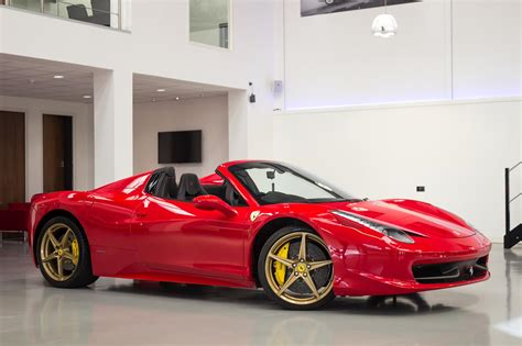 458 Italia Spider For Sale by Used 2014 458 Spider Dct For Sale In Kent