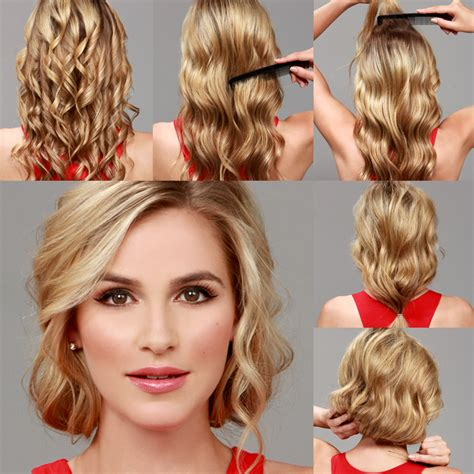 lulus   faux bob hair tutorial luluscom fashion blog