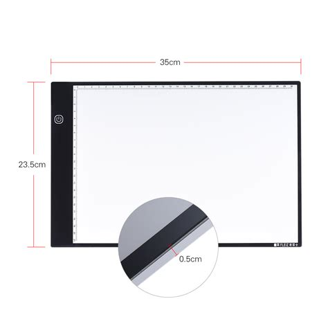 portable light box tracing portable a4 led light box drawing tracing tracer copy