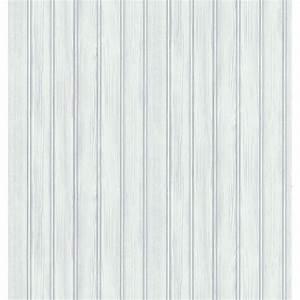 Washington Wallcoverings 56 sq. ft. Distressed White Faux ...