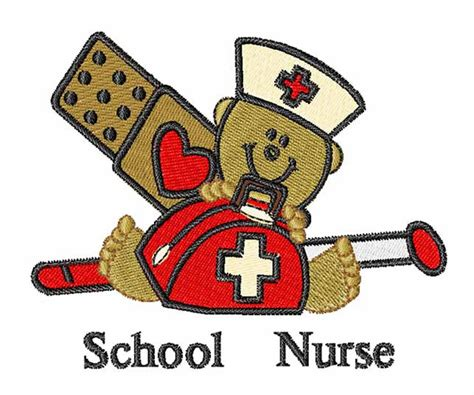 occupational embroidery design school nurse  embroidery patterns
