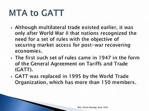 7. Trade Laws, Bilateral and Multilateral Trade Agreements ...