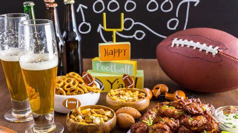 super bowl party food decorations   ideas