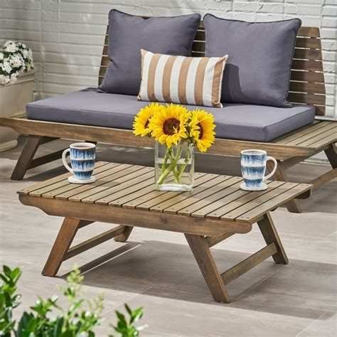 Shop with afterpay on eligible items. Shop Christopher Knight Home Sedona Grey Wood Slatted ...