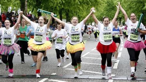 Bbc News  In Pictures Glasgow Women's 10k