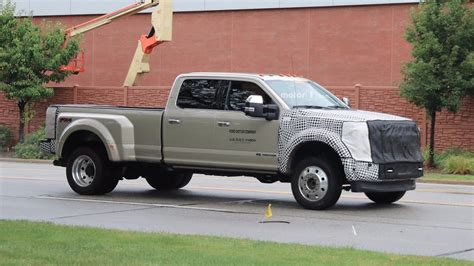 2019 Ford Super Duty Spy Photos Photo Gallery