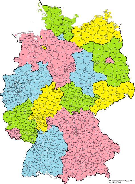 Landkreise Deutschland Karte