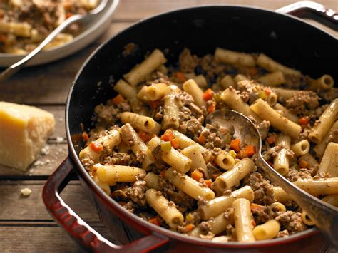 cook cuisine rigatoni with white bolognese recipe nyt cooking