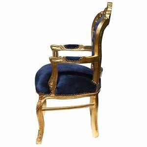 Esstisch Stühle Günstig Kaufen : st hle mit armlehne dunkelblau gold 4er pack barockst hle esstisch antikes set ~ Bigdaddyawards.com Haus und Dekorationen