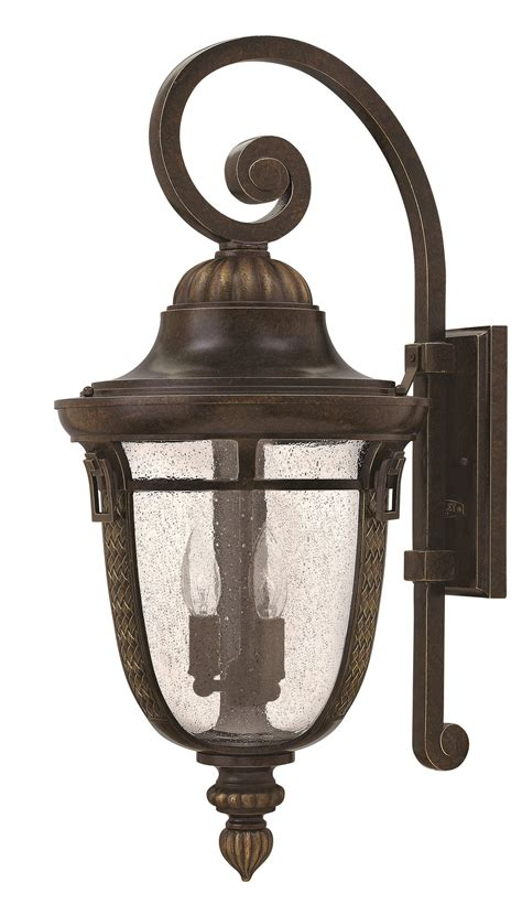hinkley lighting 2905rb key west large outdoor wall sconce