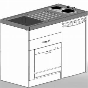 Miniküche Mit Kühlschrank Und Herd : minik che mit k hlschrank a und geschirrsp ler a ~ Indierocktalk.com Haus und Dekorationen