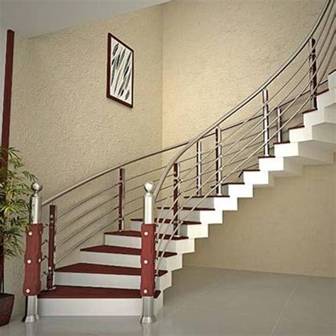 Steel Banister by Stainless Steel Railings Stainless Steel Railings For