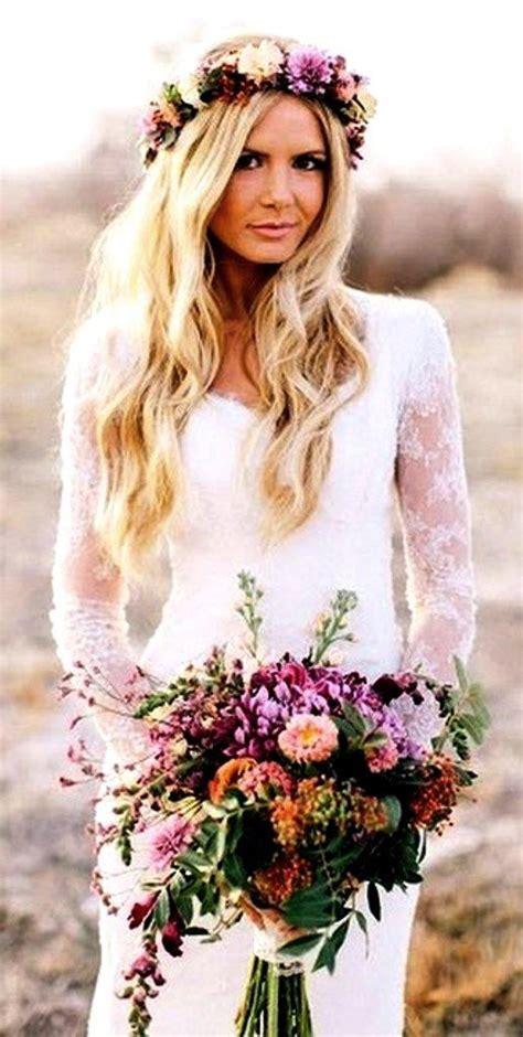 Beach Brides Long Blonde Wedding Hair Toni Kami ⊱ Flowers