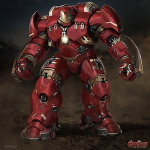 AVENGERS: AOU Concept Art - Alternate Hulkbuster, Ultron ...