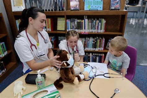 Mount Teddy Bear Care Clinic Teaches Youngsters About