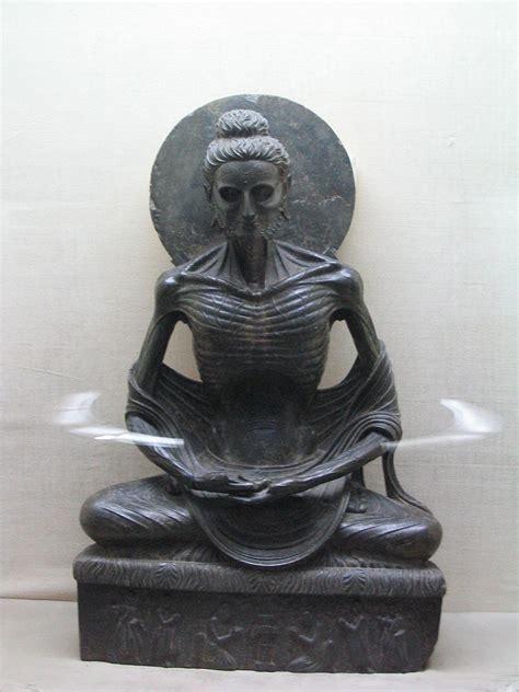 Filefasting Buddha At Lamuseum Jpg Wikimedia Commons