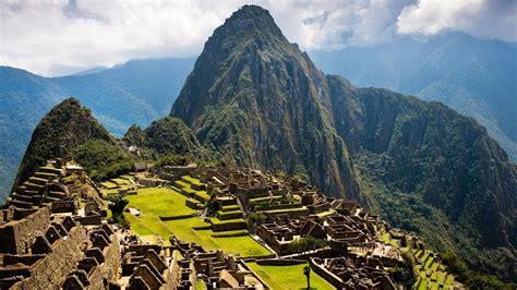 Beautiful Place Of Machu Picchu Peru Amazing Nature