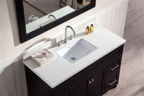 bathroom vanities with countertops polaris home design innovates with quartz newswire