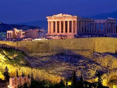 Acropolis Athens Ancient Greece Places