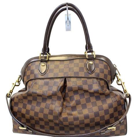 louis vuitton trevi gm damier ebene  shoulder handbag