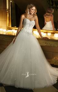 Lace Ball Gown Wedding Dress Lace Bodice ...