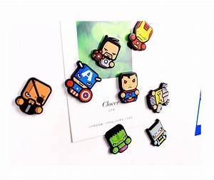 New Brand Cartoon The Avengers Fridge Magnets Kawaii Cute
