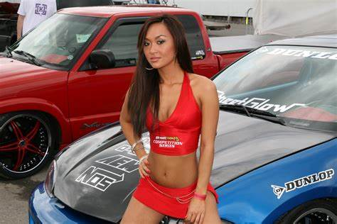 Thai Stud And Models In Car