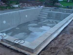 8 auskleidung des schwimmbeckens und montage der technik for Whirlpool garten mit beton balkon sanieren kosten