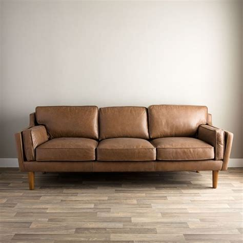 Beatnik Sofa by Beatnik Oxford Leather Sofa Overstock Shopping
