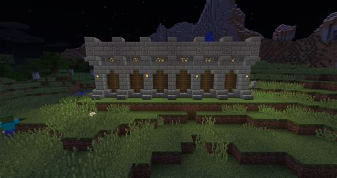 minecraft castle wall designs my survival world castle idea thread survival mode