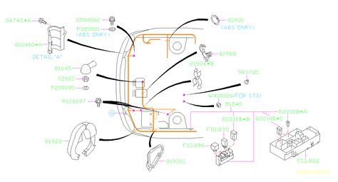 1995 Subaru Legacy Wiring Harnes Diagram by 81045ae000 Cap Wiring Harness Genuine Subaru Part