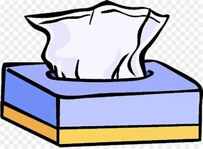 Tissues Clipart Kleenex Box Sneeze Facial Tissue